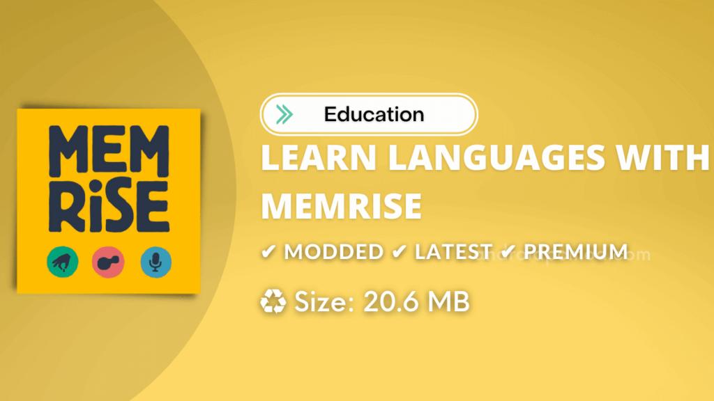 Memrise Premium MOD